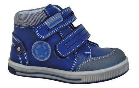 Protetika chlapecké kotníkové boty Toby 20 modrá  eb749ac460