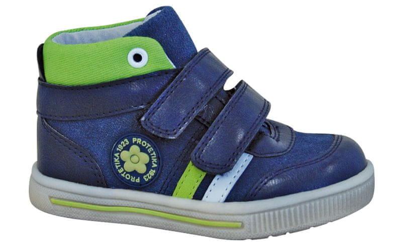 Protetika chlapecké kotníkové boty Kansas 19 modrá