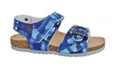 Protetika Chlapčenské ortopedické sandále modrá