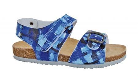 Protetika Chlapčenské ortopedické sandále 34 modrá