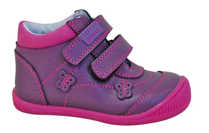 84d0e3c41e88 Protetika dívčí kotníkové boty Fia 26 fialová