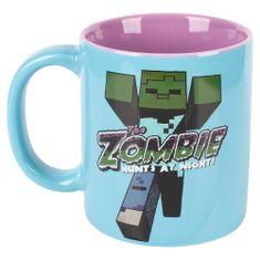 J!NX keramična skodelica Minecraft Zombie