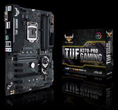Asus osnovna plošča TUF H370-PRO GAMING, DDR4, USB3.1 Gen2, LGA1151, ATX