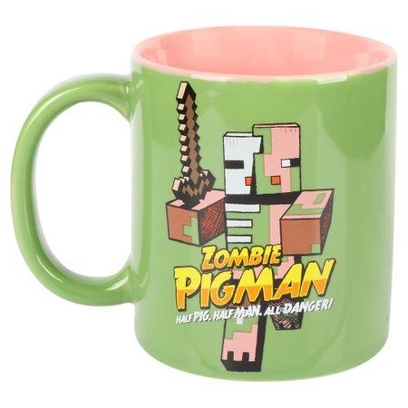 J!NX keramična skodelica Minecraft Zombie Pigman