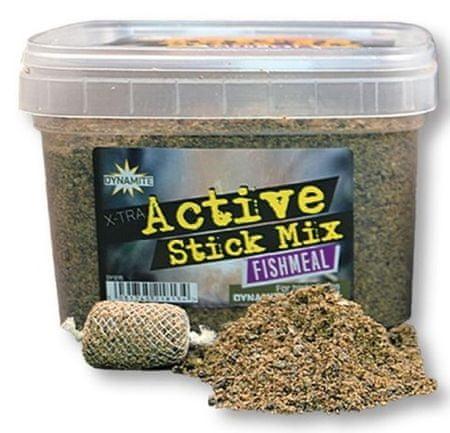 Dynamite Baits Vnadící Směs X-Tra Active Stick Mix Fishmeal 650 g
