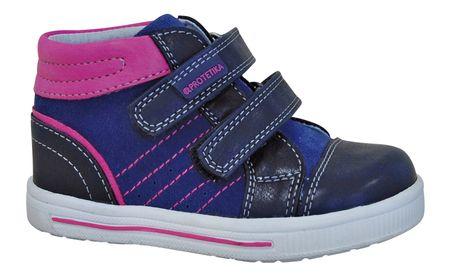 Protetika dívčí kotníkové boty Axa 19 modrá