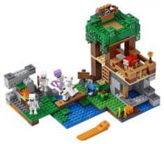LEGO Minecraft TM 21146 Útok kostlivců