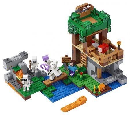 LEGO napad kostura Minecraft TM 21146