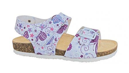 c65b79fd2496 Protetika Dievčenské ortopedické sandále 31 biele