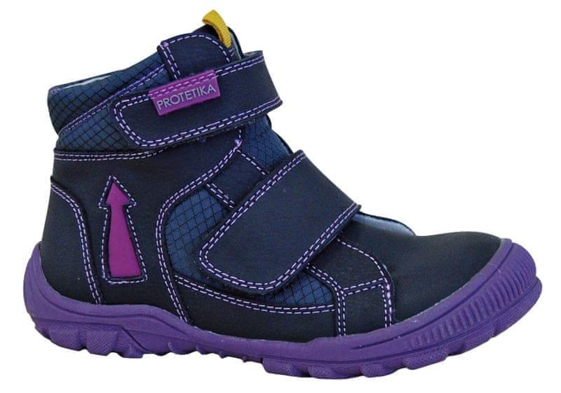 Protetika dívčí zimní boty Lupita 27 modrá