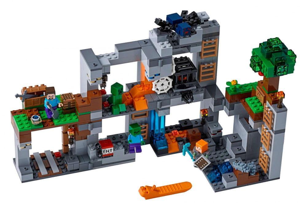 LEGO Minecraft TM 21147 Skalní dobrodružství