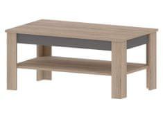 MADAGASKAR B, konferenční stolek, dub sonoma/grafit
