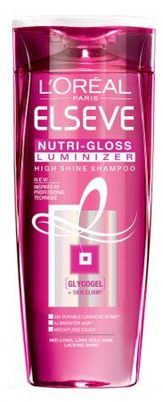 Loreal Paris šampon za lase s pomanjkanjem sijaja Elseve Nutri Gloss Luminizer, 250 ml