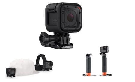 GoPro sportska kamera Hero Session + poklon: Grab Bag vrećica s rezervnim dijelovima