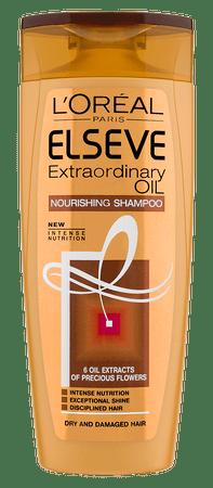 Loreal Paris negovalni šampon za suhe in poškodovane lase Elseve Extraordinary Oil, 250 ml