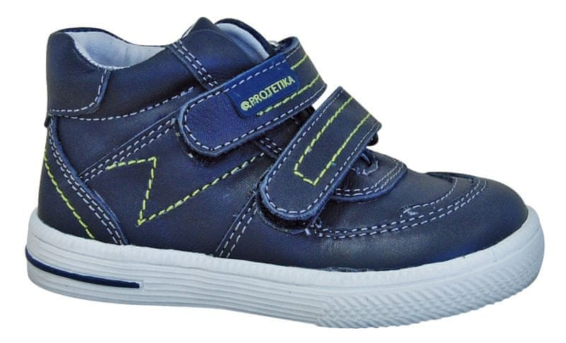 87f55804a507 Protetika chlapecké kotníkové boty Gavin 19 modrá