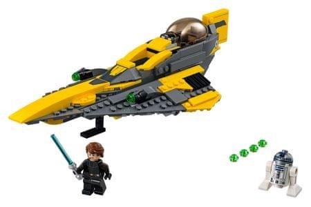 LEGO Anakin Starfighter Star Wars 75214
