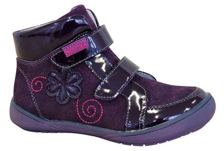 Protetika dívčí kotníkové boty Kiki 28 fialová