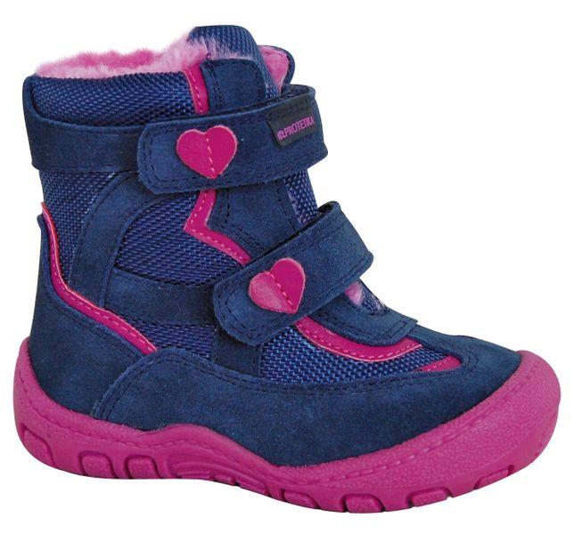 94c1dc705f0 Protetika dívčí zimní boty Diana 21 růžová modrá
