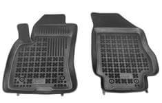 REZAW-PLAST Gumové koberce, černé, sada 2 ks (2x přední), Fiat Doblo II od r. 2009, Opel Combo C od r. 2011