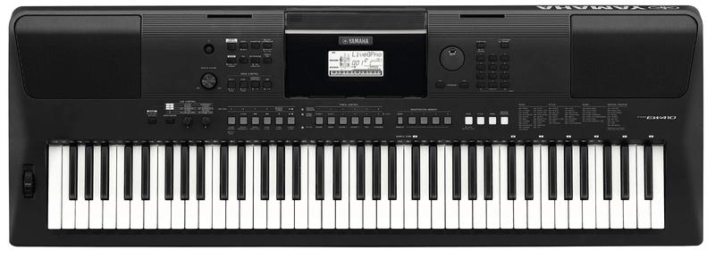 Yamaha PSR-EW410 Klávesy s dynamikou úhozu