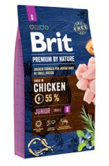 Brit hrana za pasje mladiče Premium by Nature Junior S, 8 kg