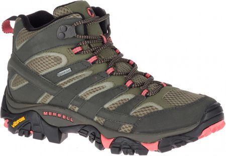 Merrell Moab 2 Mid Gtx Beluga/Olive 6 (39) cipő