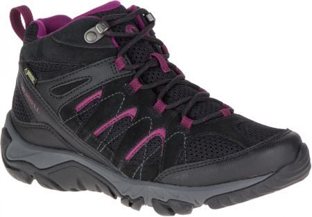 Merrell Outmost Mid Vent Gtx Black 4,5 (37,5)