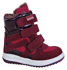 Protetika dziewczęce buty zimowe za kostkę Ebony