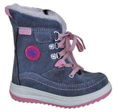Protetika dziewczęce buty zimowe za kostkę Bory
