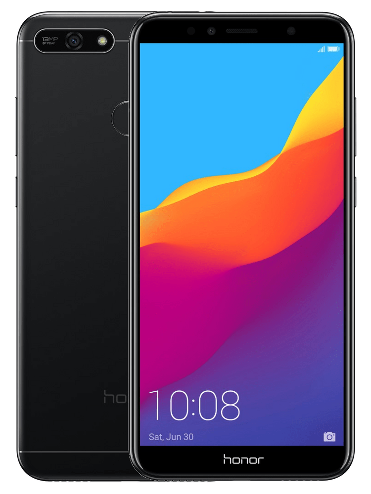 Honor 7A, 2+16 GB, Black