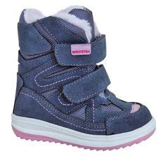 Protetika dziewczęce buty zimowe za kostkę Fari