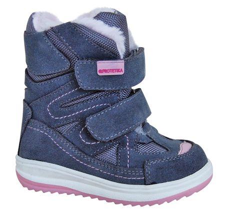 Protetika dívčí zimní boty Fari 20 růžová