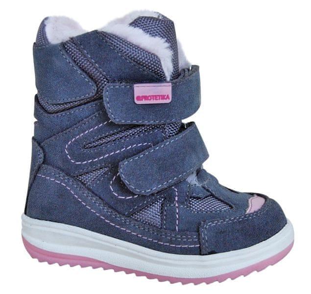Protetika dívčí zimní boty Fari 24 růžová