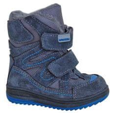 Protetika buty zimowe za kostkę chłopięce Fari