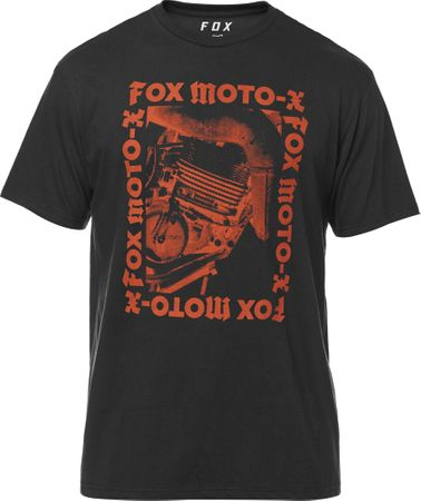 FOX pánské tričko Catalog Premium M čierna