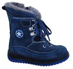 Protetika buty zimowe za kostkę chłopięce Bory