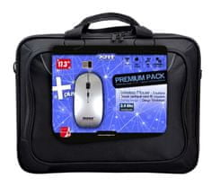 Port Designs BUNDLE PREMIUM PACK 17,3'', Notebook Case + Wireless Mouse (501678)