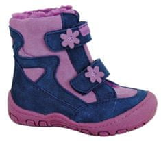 Protetika buty zimowe za kostkę dziewczęce Mira