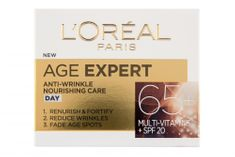 Loreal Paris hranilna dnevna krema proti gubam Age Specialist Anti-wrinkle 65+, 50 ml