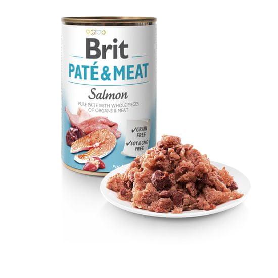 Brit Paté & Meat Salmon 6x400g