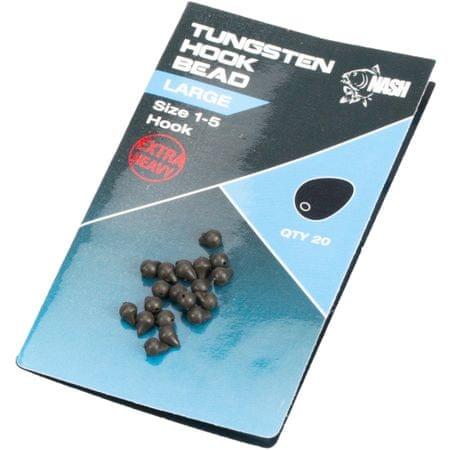Nash Tažké Zarážky na háčik Tungsten Hook Beads Large