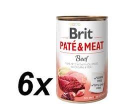 Brit Paté & Meat Beef 6x400g