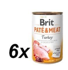 Brit Paté & Meat Turkey 6x400g