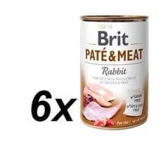Brit Paté & Meat Rabbit 6 x 400g