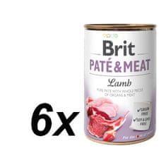 Brit Paté & Meat Lamb 6x400g