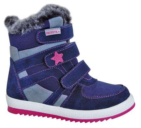 Protetika buty zimowe za kostkę dziewczęce Peny 31 niebieski