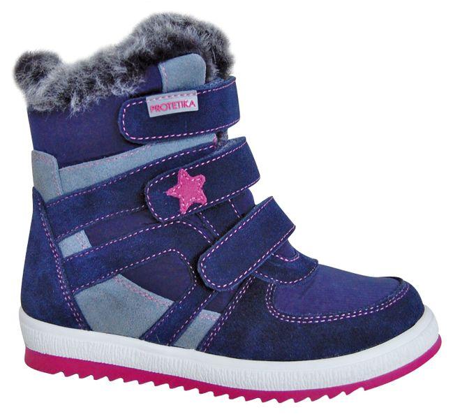 Protetika dívčí zimní boty Peny 34 modrá