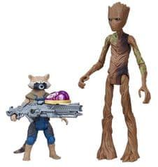 Avengers Deluxe igrača Rocket in Groot