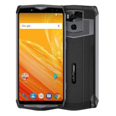 Ulefone Power 5, Dual SIM, fekete